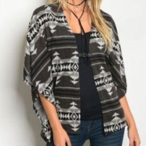 Sweaters - Charcoal Gray Cardigan